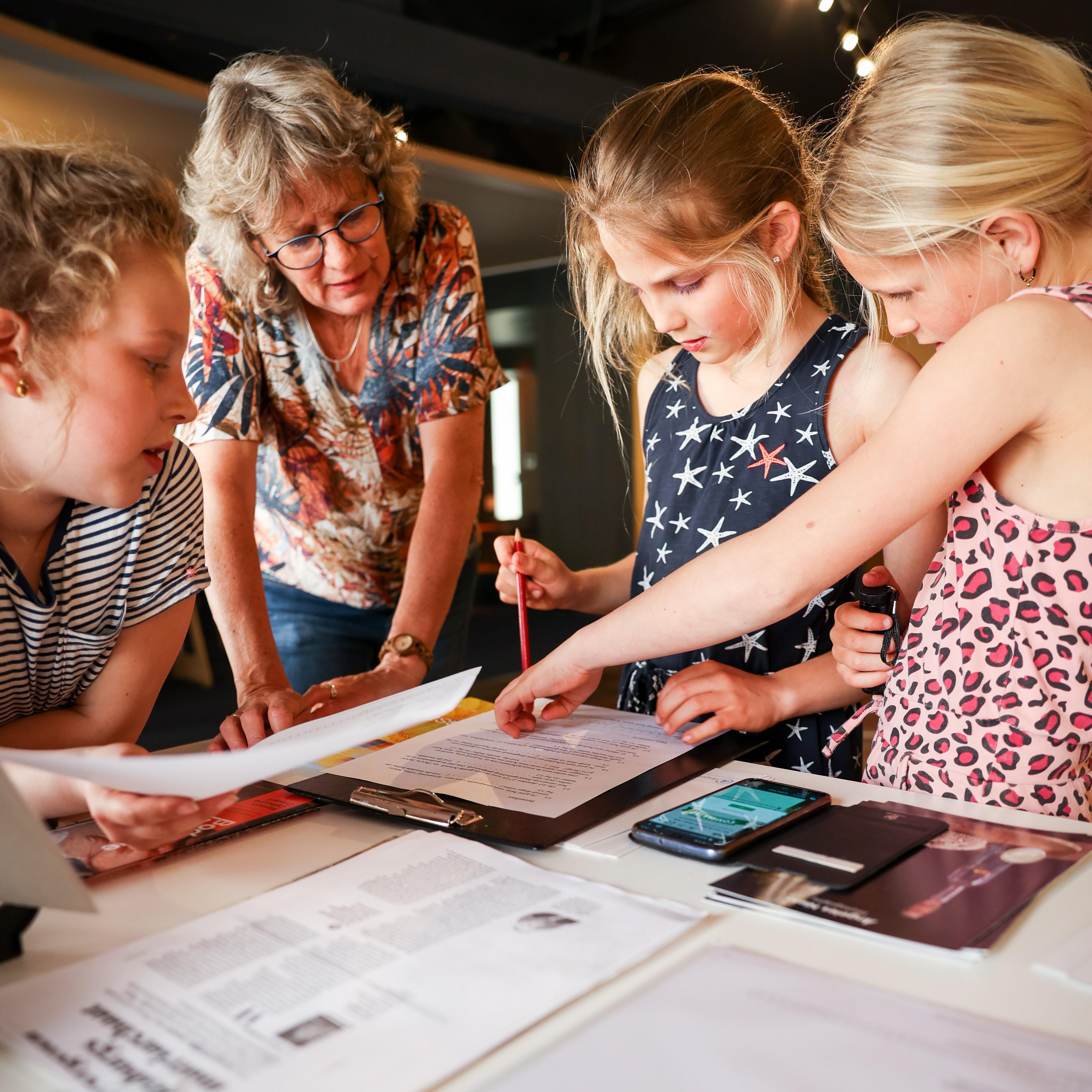 Kinderen zijn in ons museum van harte welkom!